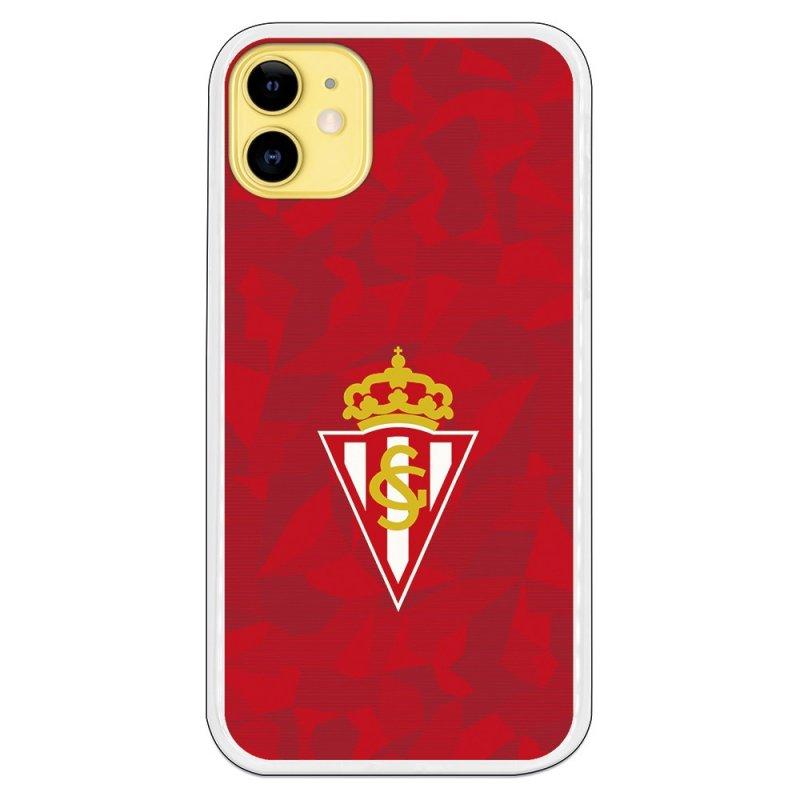 Funda Oficial Real Sporting de Gijón del Gijón Trama Roja para iPhone 11