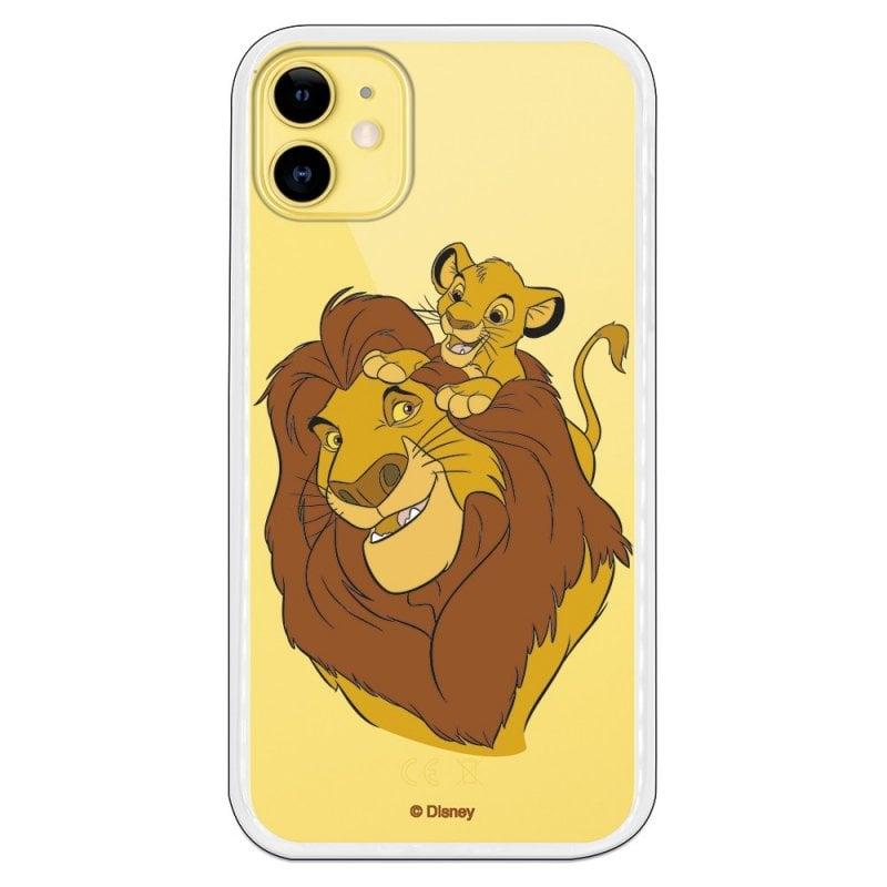 Funda Oficial de Disney Mufasa y Simba Silueta El Rey León para iPhone 11