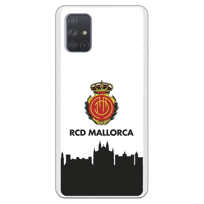Funda Oficial RCD Mallorca del Mallorca RCD Skyline para Samsung Galaxy A71