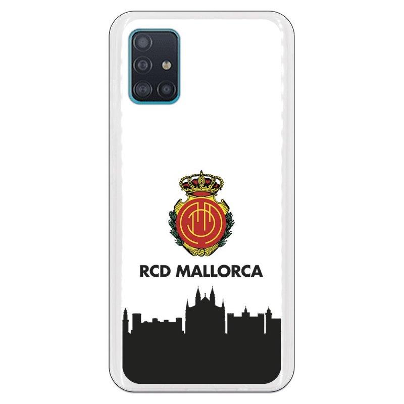 Funda Oficial RCD Mallorca del Mallorca RCD Skyline para Samsung Galaxy A51