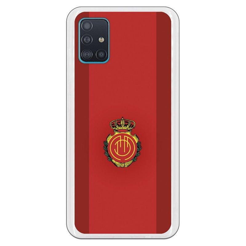 Funda Oficial RCD Mallorca del Mallorca RCD Fondo Rojo para Samsung Galaxy A51