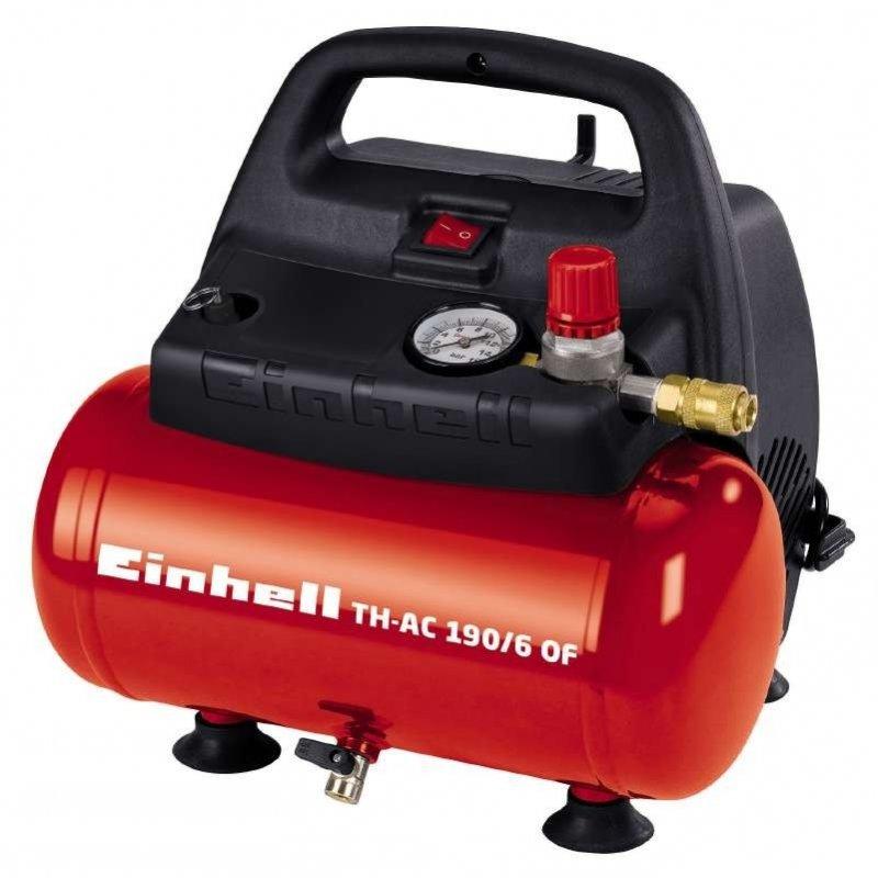 Einhell TC-AC 190/6/8 OF Compresor Horizontal 6L 1100W