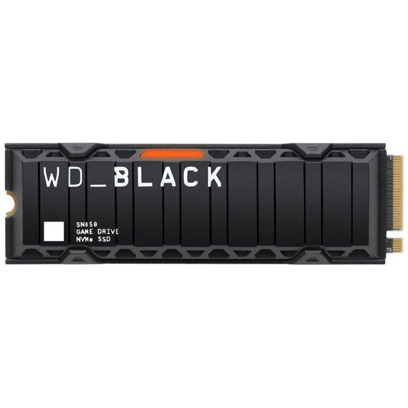 WD Black SN850 2TB SSD M.2 2280 3D NAND con Disipador Térmico