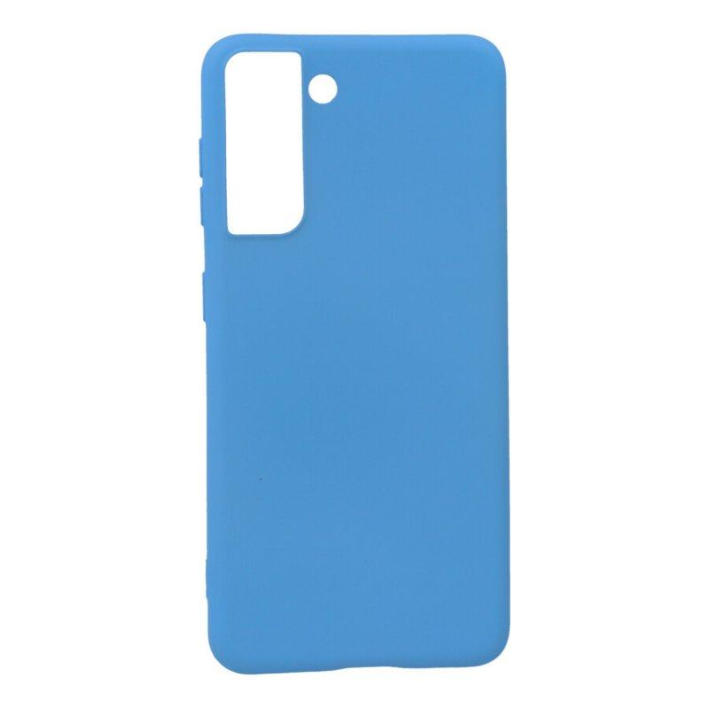 Funda Ultra Suave Azul Claro para Samsung Galaxy S21