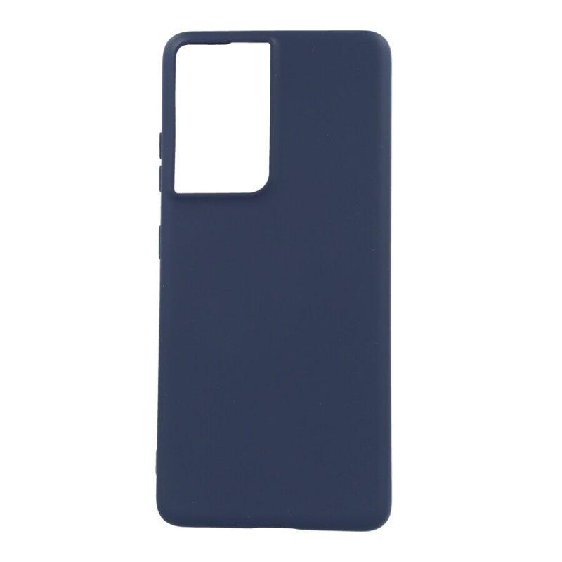 Funda Ultra Suave Azul para Samsung Galaxy S21 Ultra
