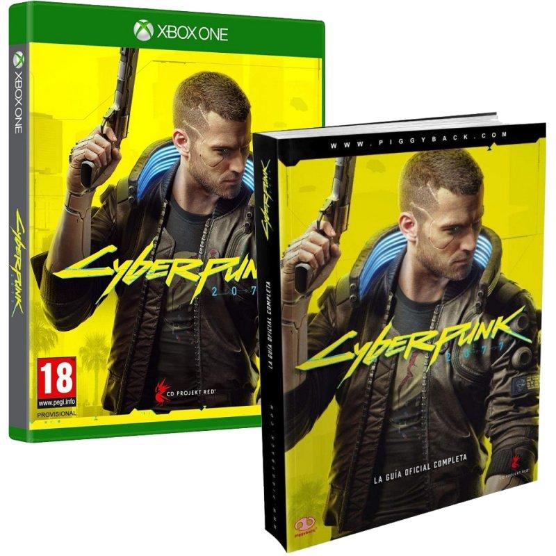 Cyberpunk 2077 Edición Day One Xbox One + Piggyback Cyberpunk 2077 La Guía Oficial Completa
