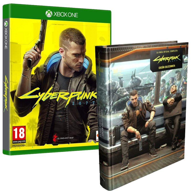 Cyberpunk 2077 Edición Day One Xbox One + Piggyback Cyberpunk 2077 La Guía Oficial Completa Edición de Coleccionista