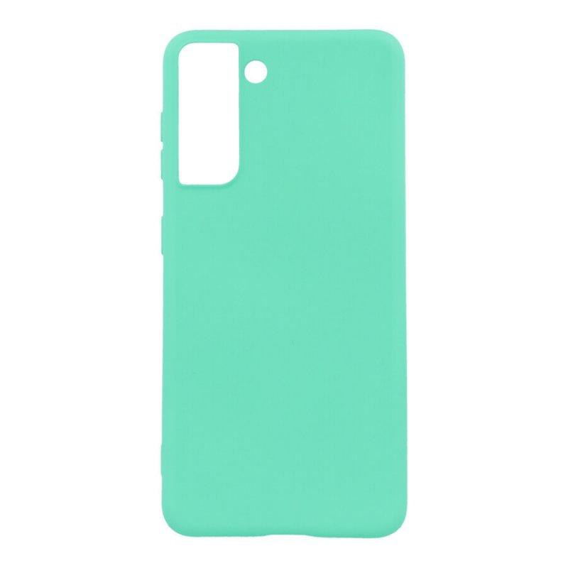 Funda Ultra Suave Verde para Samsung Galaxy S21