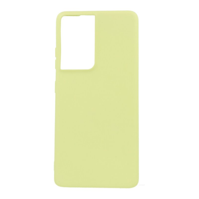 Funda Ultra Suave Verde para Samsung Galaxy S21 Ultra