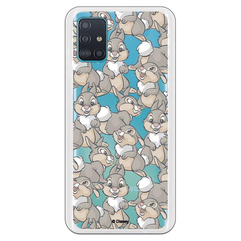 Funda Oficial de Disney Tambor Patrones Bambi para Samsung Galaxy A51 5G