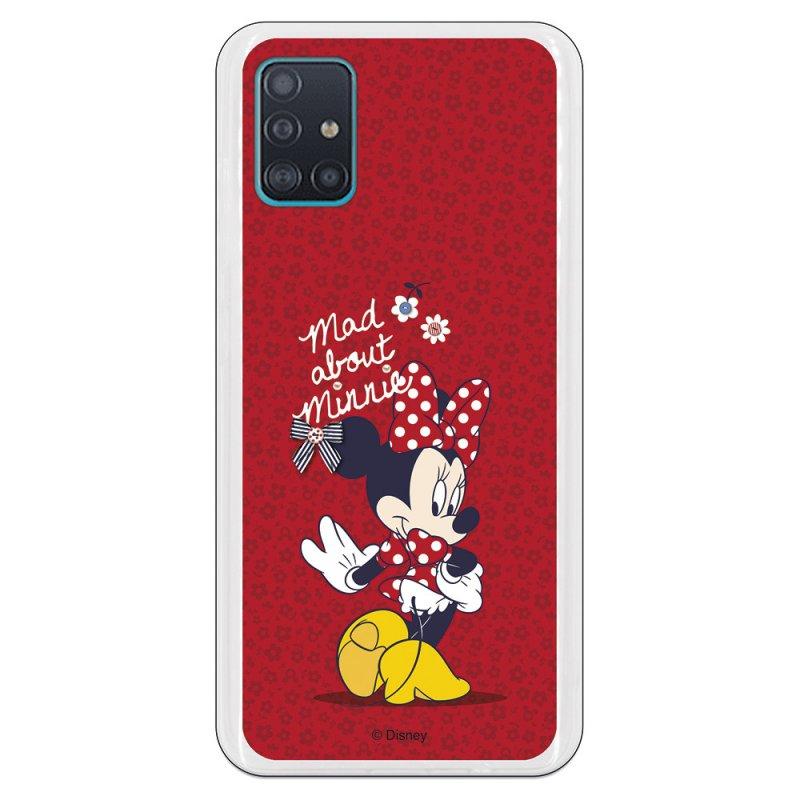 Funda Oficial de Disney Minnie Mad About Clásicos Disney para Samsung Galaxy A51 5G
