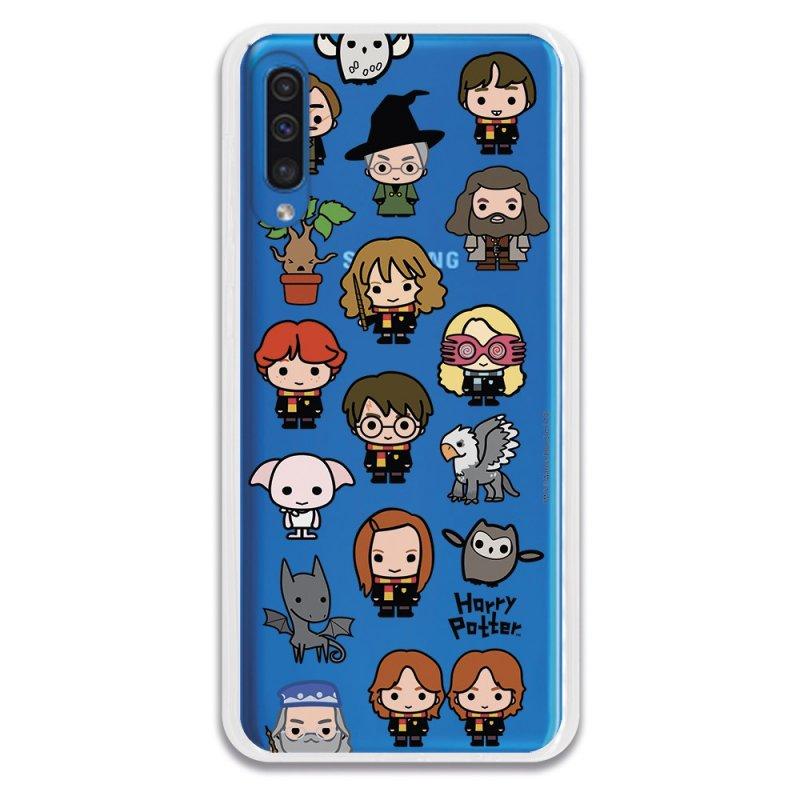 Funda Oficial Harry Potter Icons Characters para Samsung Galaxy A50