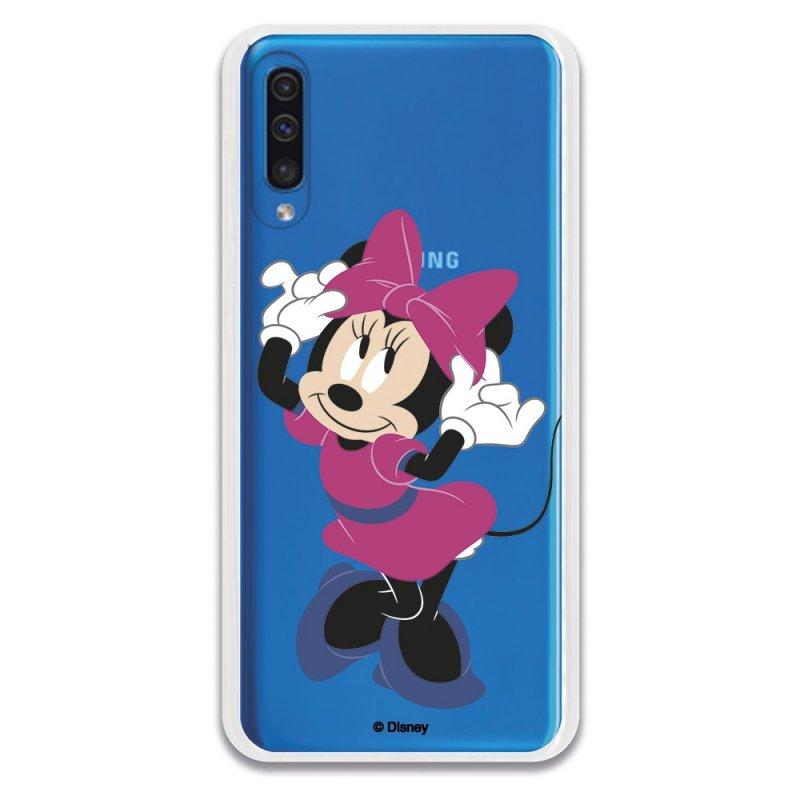 Funda Oficial de Disney Minnie Rosa Clásicos Disney para Samsung Galaxy A50