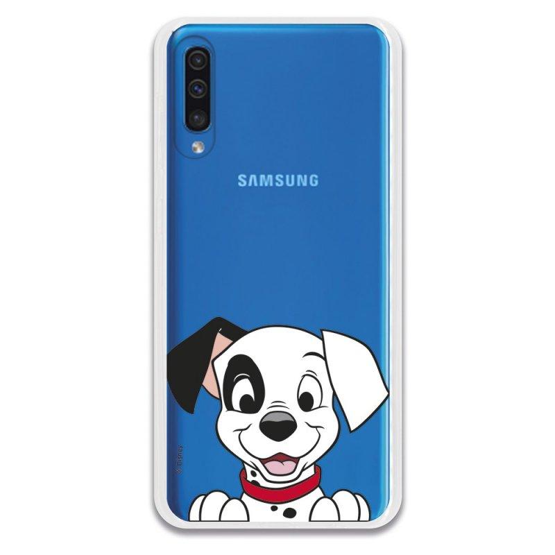 Funda Oficial de Disney Cachorro Sonrisa 101 Dálmatas para Samsung Galaxy A50