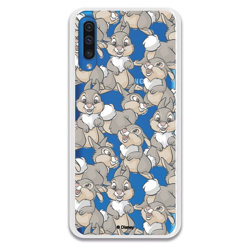 Funda Oficial de Disney Tambor Patrones Bambi para Samsung Galaxy A50