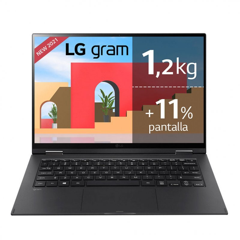 "LG Gram 14T90P-G.AA78B Intel Core I7-1165G7/16GB/512GB SSD/14"" Táctil"