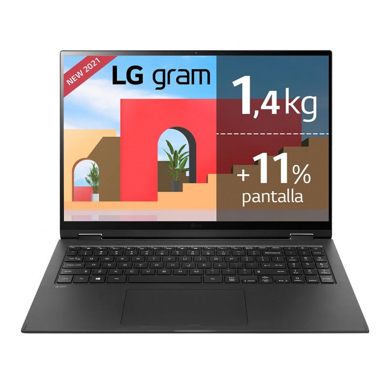 "LG Gram 16T90P-G.AA78B Intel Core I7-1165G7/16GB/512GB SSD/16"" Táctil"