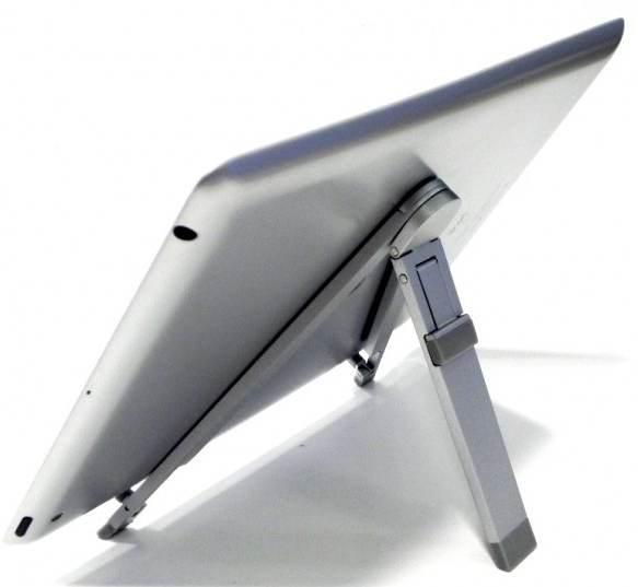 Soporte de aluminio plata para tablet pc 7 10 pccomponentes for Soporte tablet pared