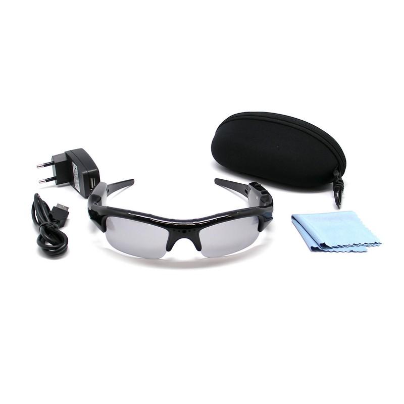 Unotec Gafas de sol con videocámara 4GB
