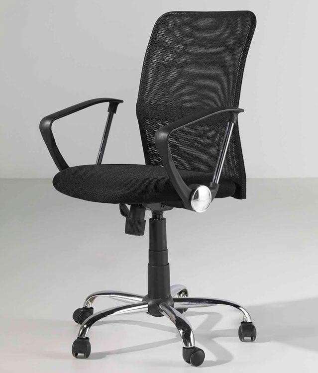 Silla de oficina columbia for Sillas comodas para pc