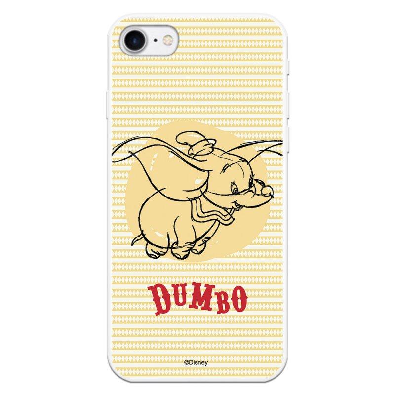 Funda Oficial De Disney Dumbo Fondo Amarillo Dumbo Para IPhone 8
