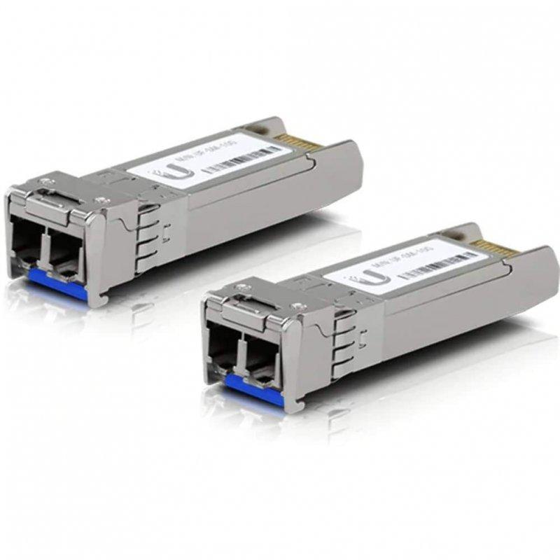 Ubiquiti UF-SM-10G Pack 2 Módulos Transceptores Gigabit SFP+