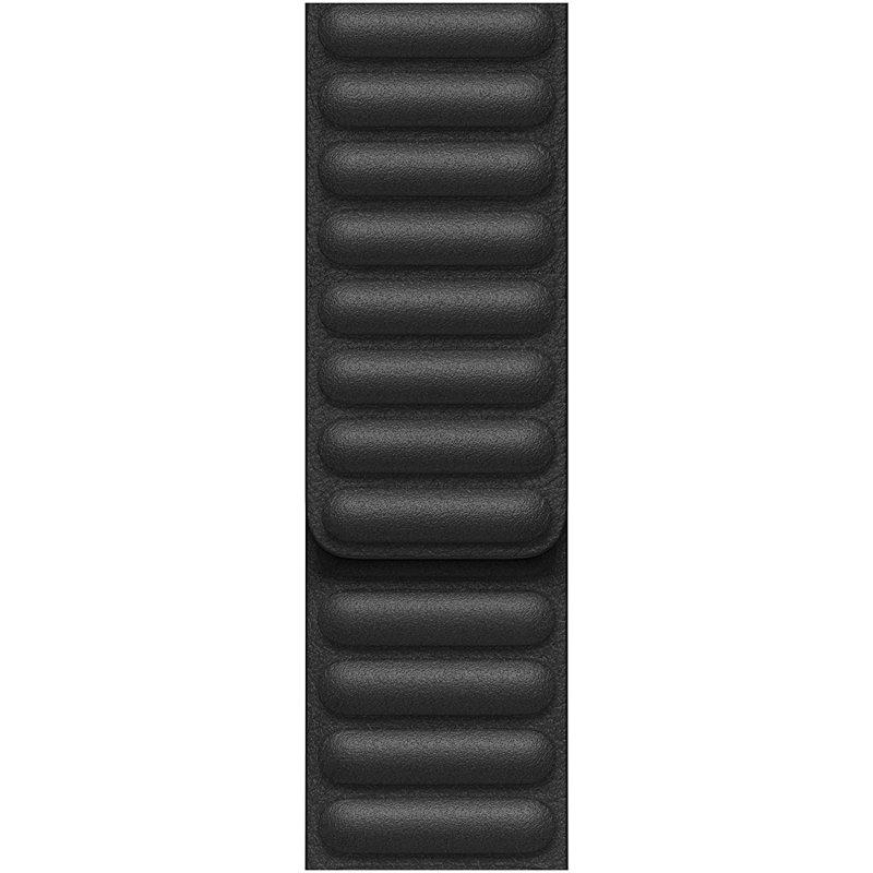 Apple Correa Eslabones De Piel Negra 44mm Talla S Para Apple Watch