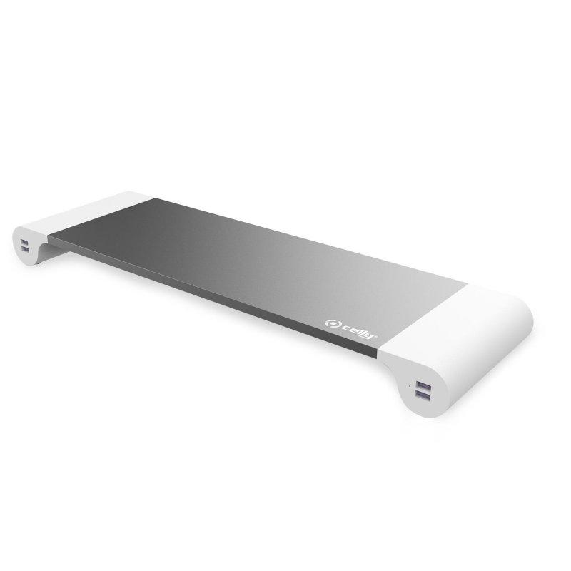 Celly SWDESKHUBWH HUB Para Monitor USB Blanco