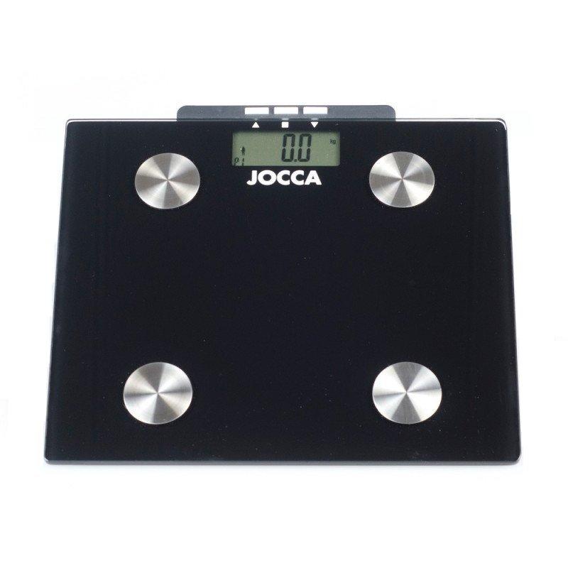 Jocca 7148 Báscula de Baño Negra
