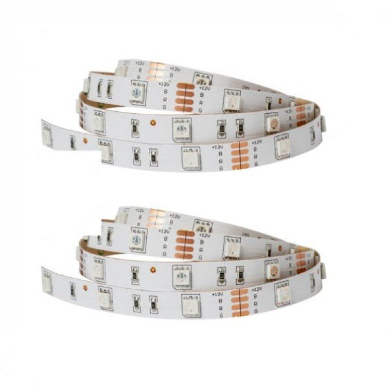Sulion Pack 2 Tiras LED 7.2W 3m RGB