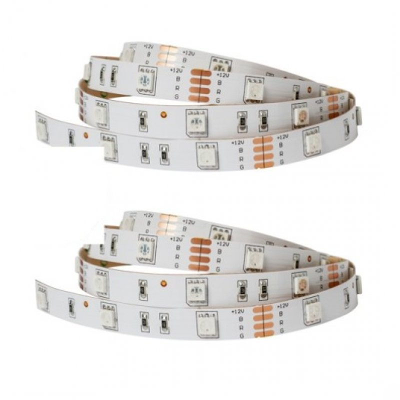 Sulion Pack 2 Tiras LED 4.8W 3m Blanco Cálido
