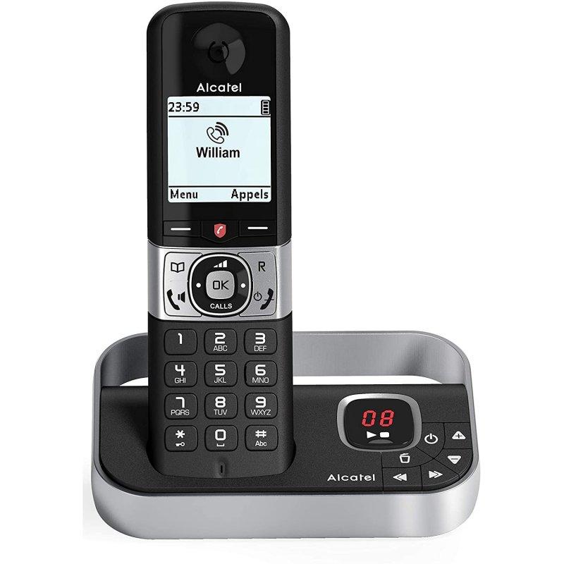 Alcatel F890 Voice Teléfono Fijo Inalámbrico Negro
