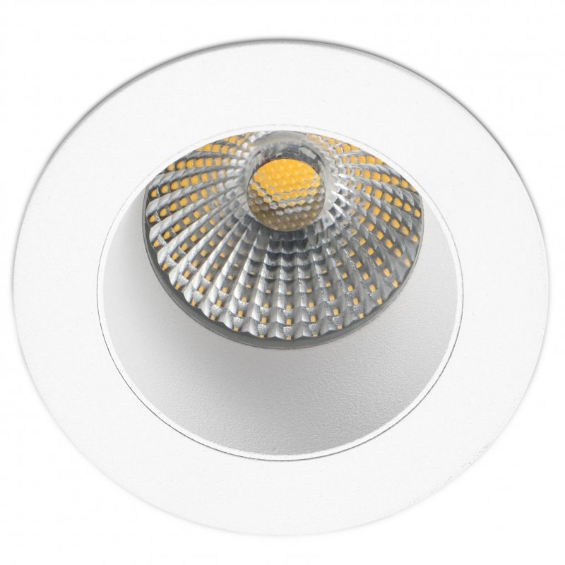 Faro Clear Foco LED Empotrable 7W Blanco Cálido