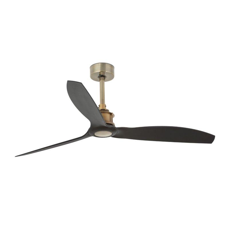 Faro Just Fan Ventilador De Techo Con Mando 32W Oro/Negro