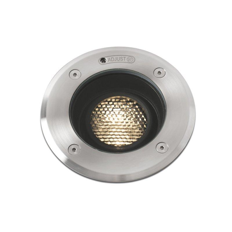 Faro Geiser Foco Empotrable De Suelo Orientrable LED 7W Acreo Inoxidable