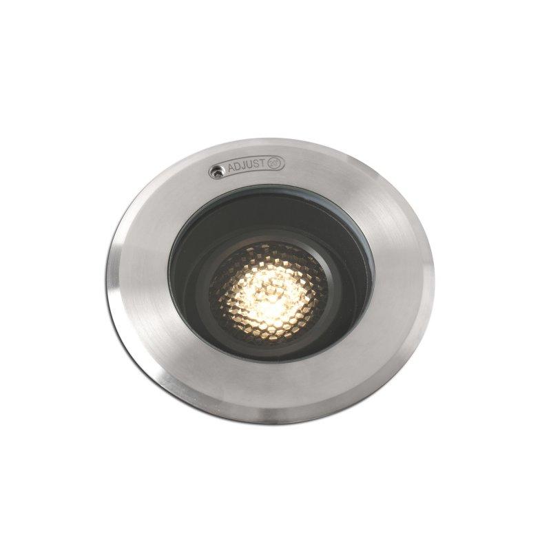 Faro Geiser Foco Empotrable De Suelo LED Acero Inoxidable