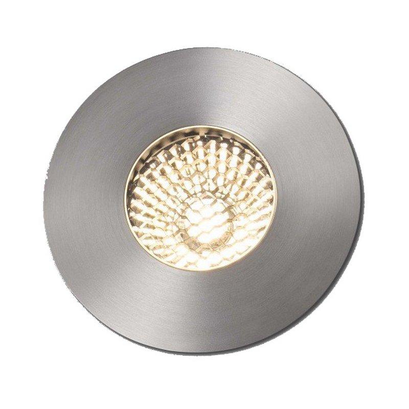 Faro Grund Foco Empotrable LED 7W Acero Inoxidable