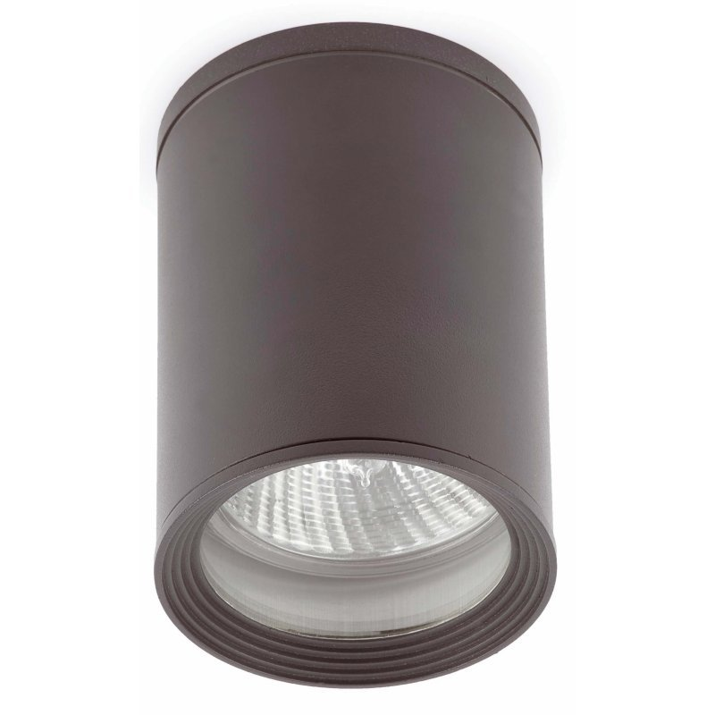 Faro Tasa Foco De Techo Para Exterior E27 Gris Oscuro