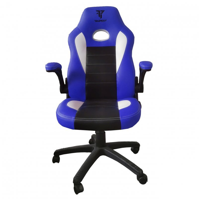 Tempest Racing Sports Silla Gaming Azul/Negra