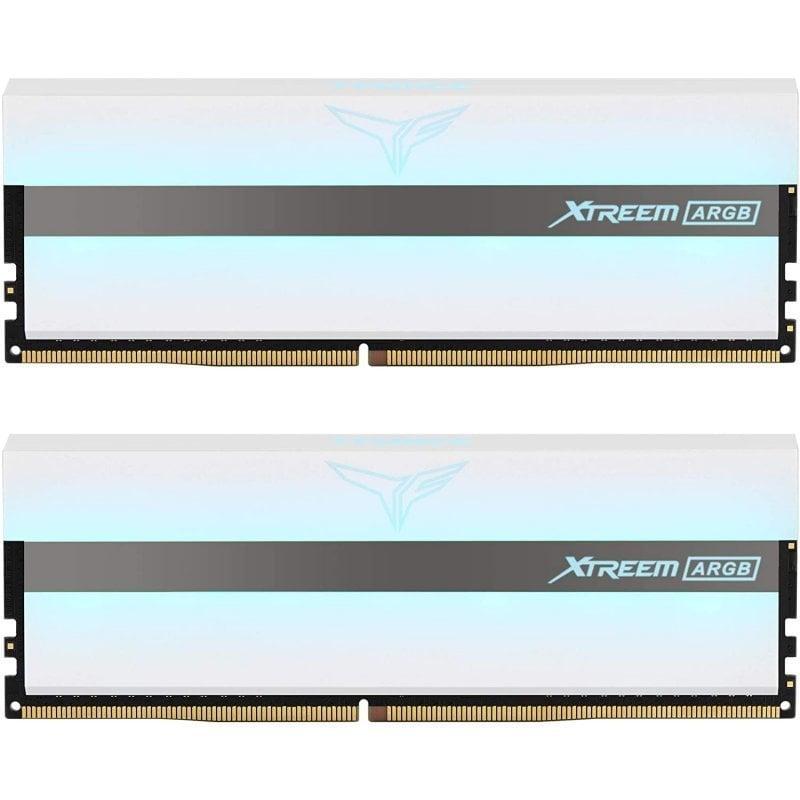 Team Group Xtreem ARGB DDR4 3200MHz 16GB 2x8GB CL14 Blanco