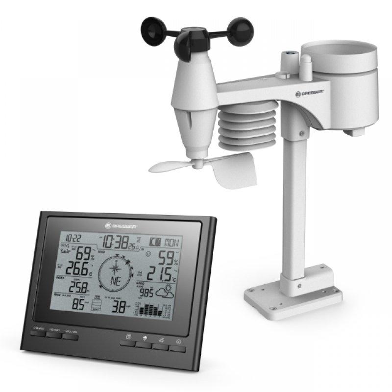 Bresser ClimateScout RC Estación Meteorológica WiFi 7 En 1