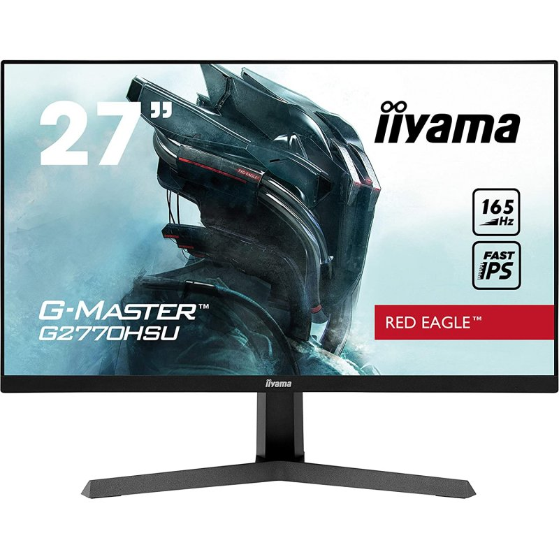 "Iiyama G-Master Red Eagle G2770HSU-B1 27"" LED IPS FullHD 165Hz FreeSync Premium"