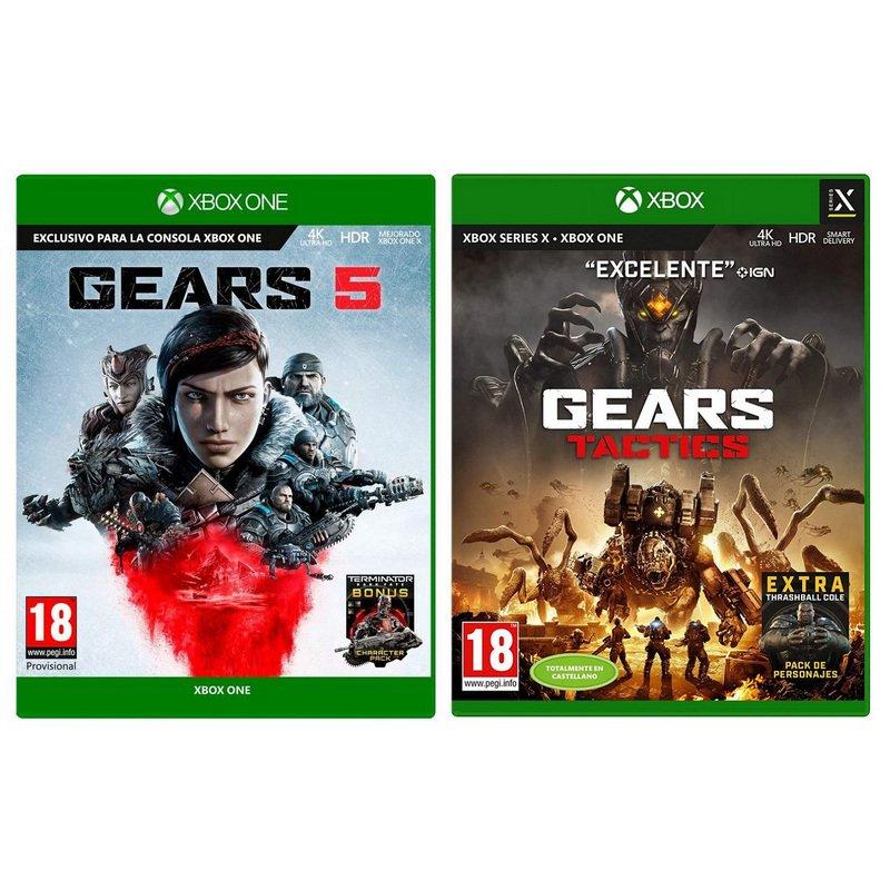 Gears Of War 5 Xbox One + Gears Tactics Xbox Series X/One