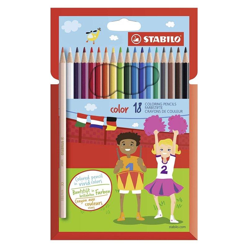 Stabilo Caja 18 Lápices De Colores