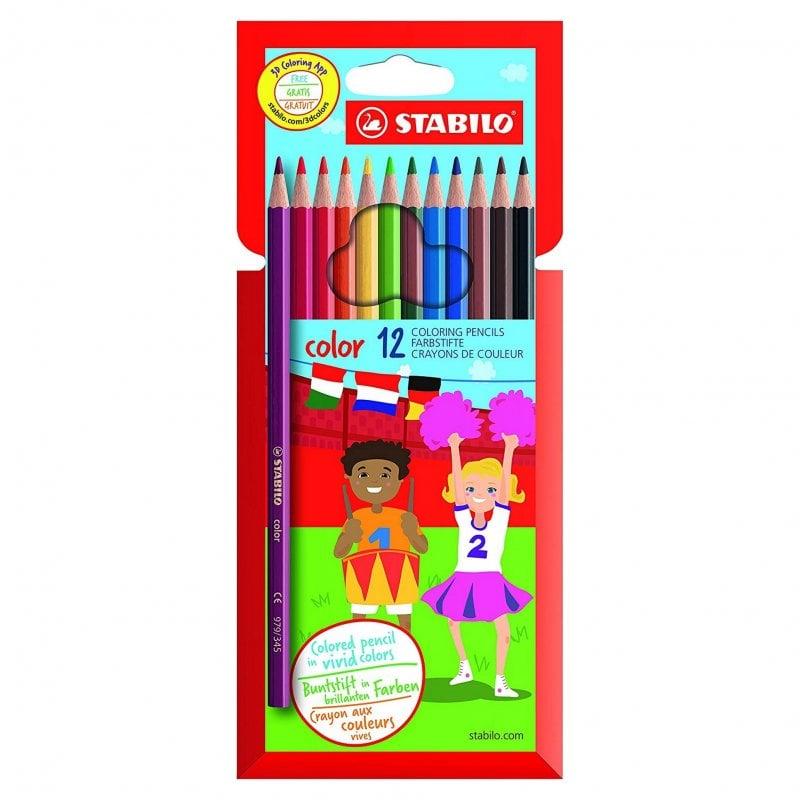 Stabilo Caja 12 Lápices De Colores