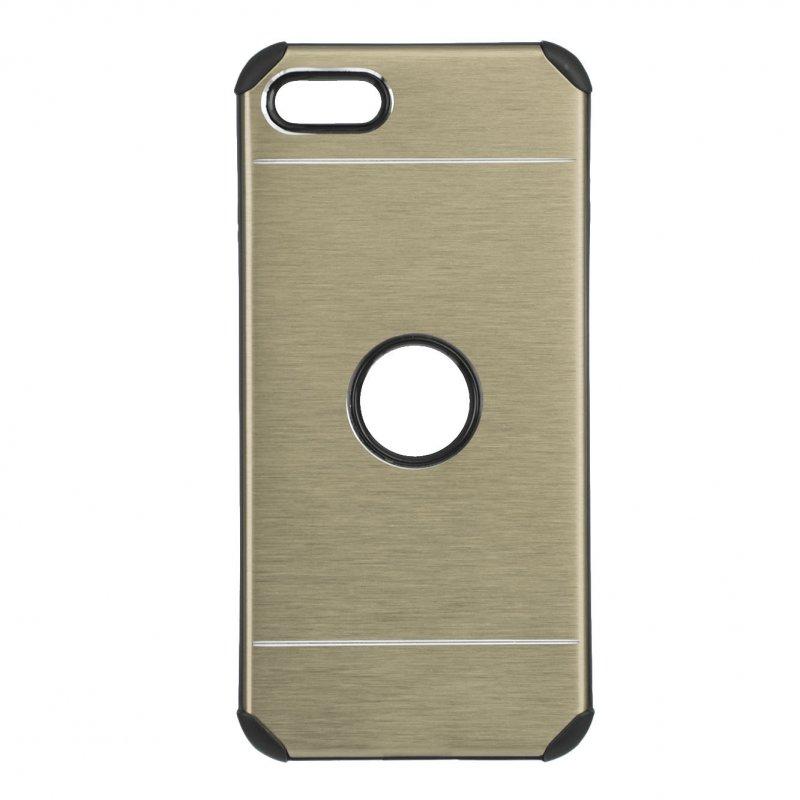 Funda Metalizada Oro Para IPhone SE