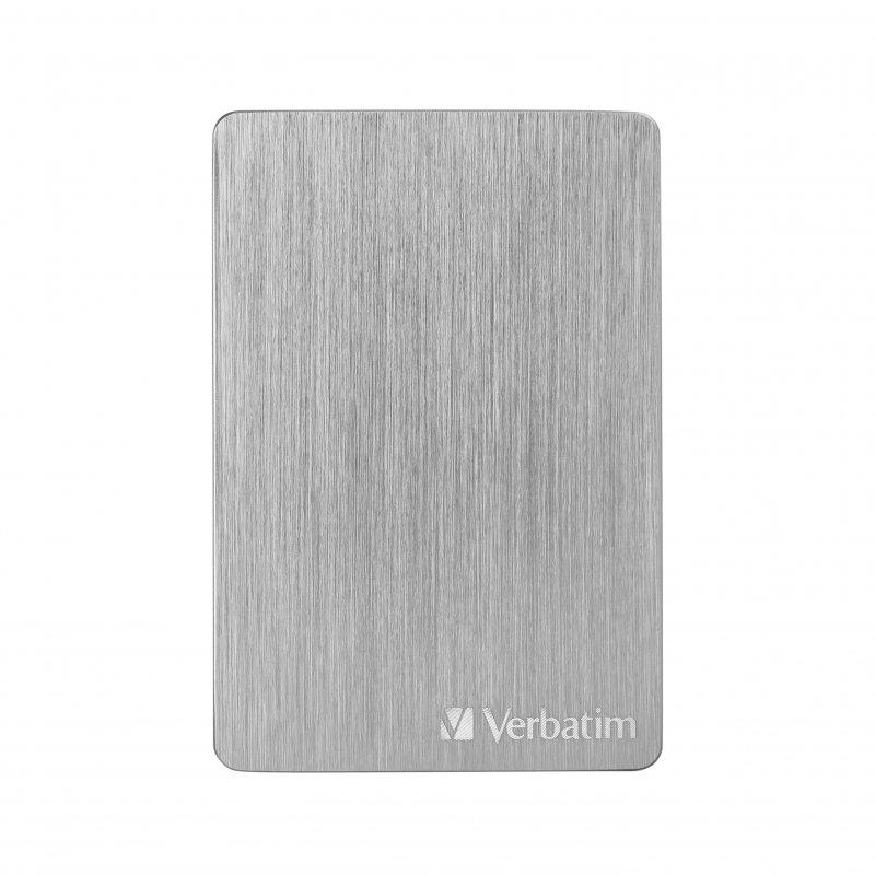 "Verbatim Store N Go Alu Slim 2.5"" 2TB USB-C/3.1 Plata"