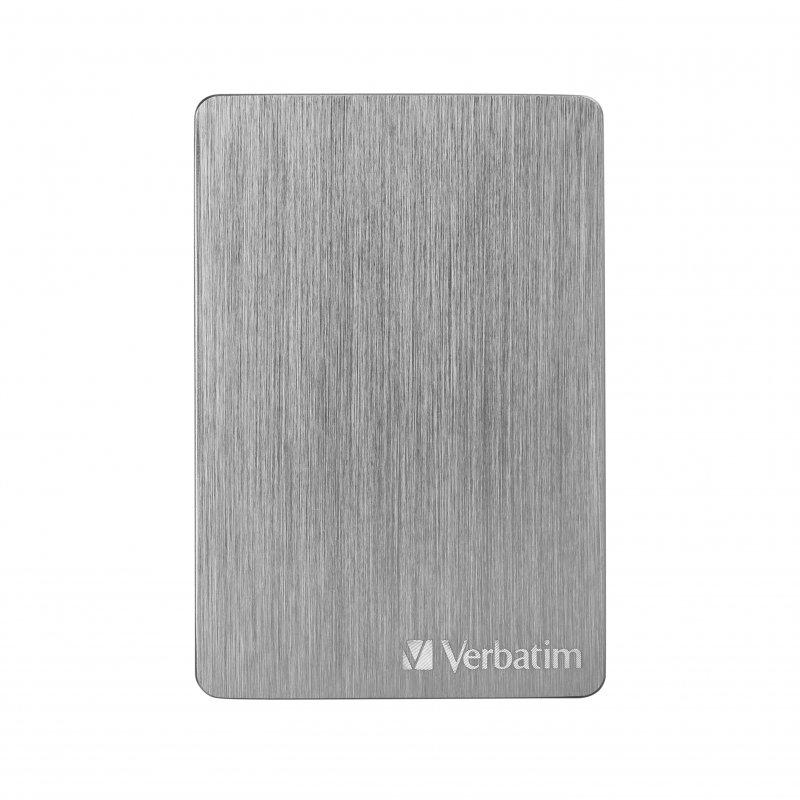 "Verbatim Store N Go Alu Slim 2.5"" 1TB USB-C/3.1 Gris"