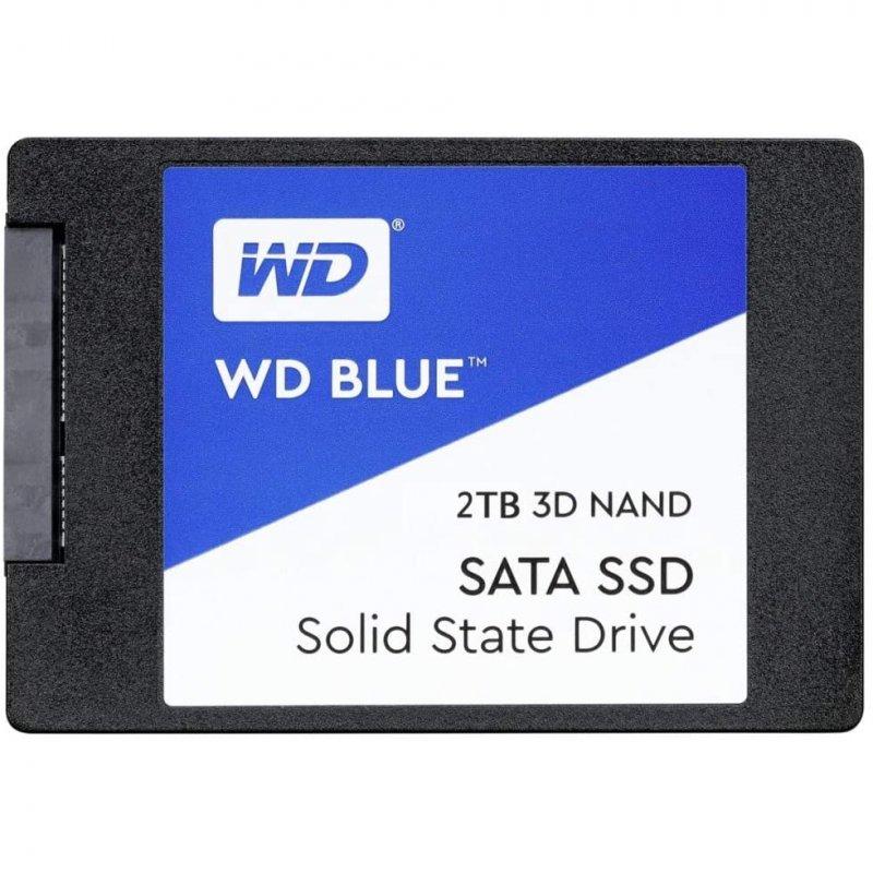"""WD Blue 2.5"""" SSD 2TB SATA 3 3D NAND"""