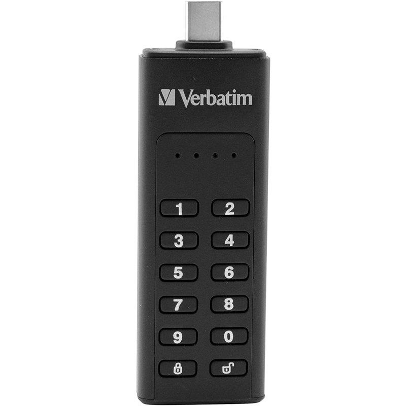 Verbatim Keypad Secure 128GB USB-C